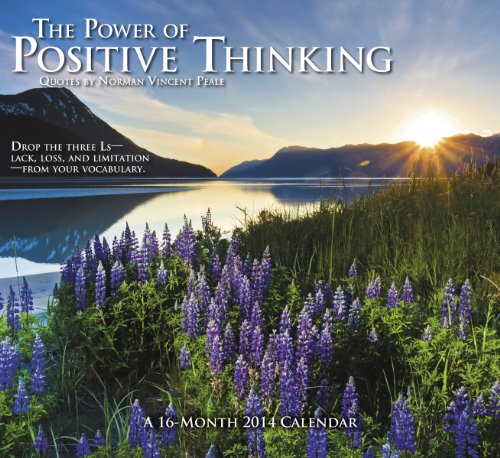 9781423819271: 2014 The Power of Positive Thinking Wall Calendar