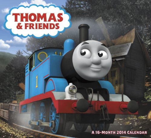 9781423819318: 2014 Thomas and Friends Wall Calendar