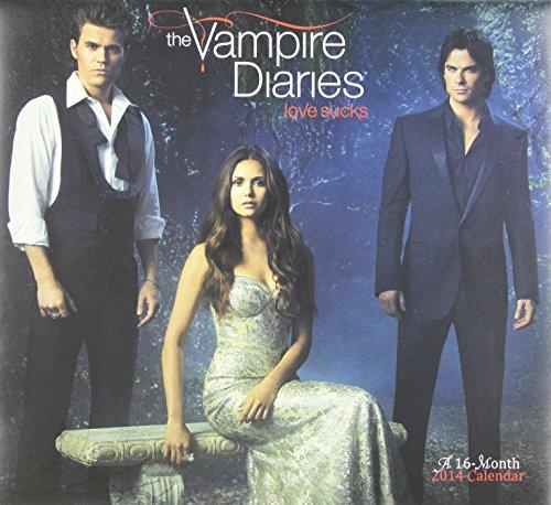 9781423819554: 2014 The Vampire Diaries Wall Calendar