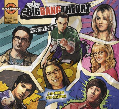 9781423819592: 2014 The Big Bang Theory Wall Calendar