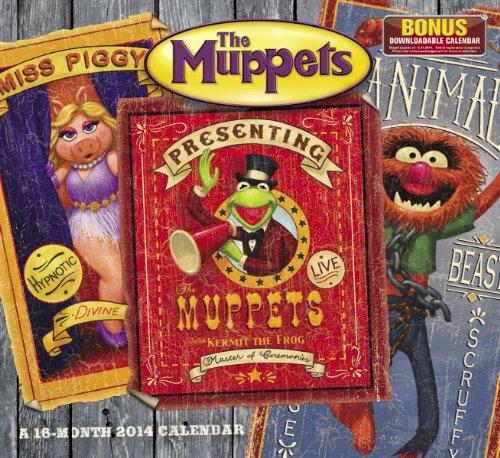2014 Disney The Muppets Wall Calendar: Disney