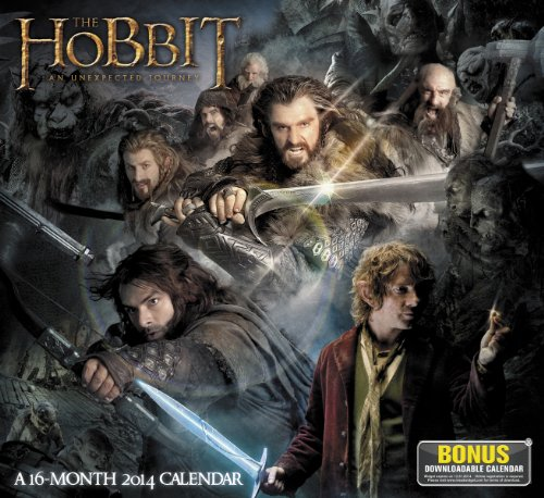 9781423819691: The Hobbit an Unexpected Journey 2014 Calendar