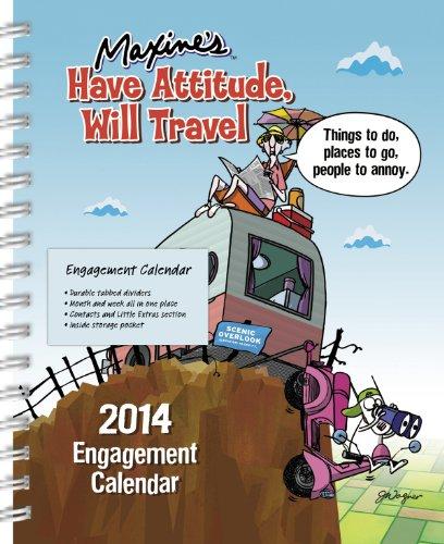 9781423819882: 2014 Maxine Weekly Engagement Calendar