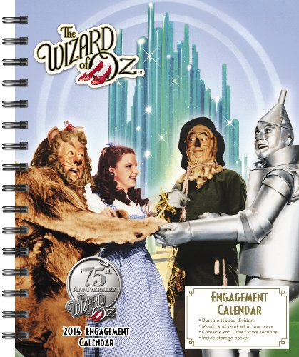 2014 The Wizard of Oz Weekly Engagement Calendar: Warner Bros Consumer Products
