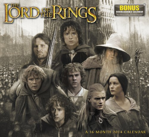 9781423822097: The Lord of the Rings 2014 Calendar