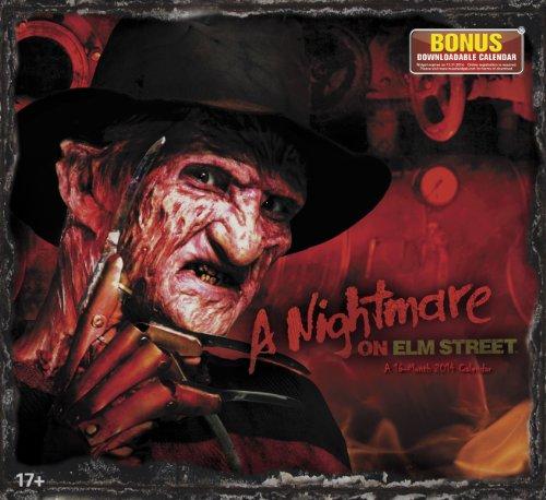 9781423822134: 2014 A Nightmare On Elm Street Wall Calendar