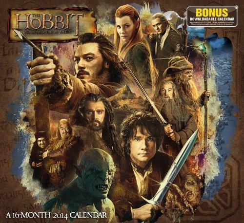 9781423822141: The Hobbit The Desolation of Smaug 2014 Calendar