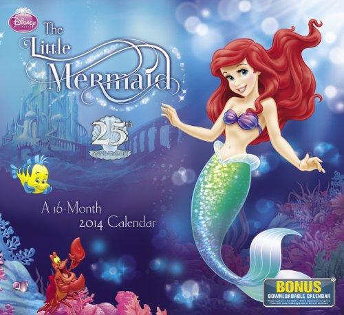 9781423822288: The Little Mermaid 2014 Calendar