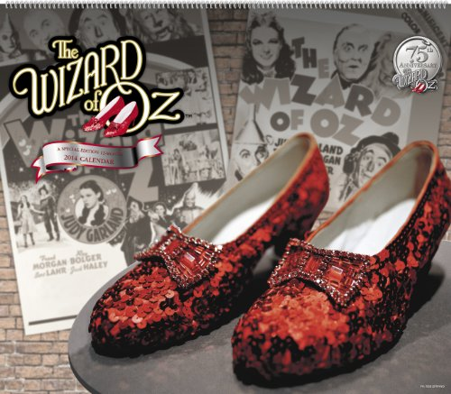 2014 The Wizard of Oz Special Edition Wall Calendar: Warner Bros Consumer Products