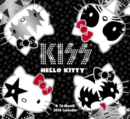 9781423822936: 2014 Hello Kitty Kiss Wall Calendar