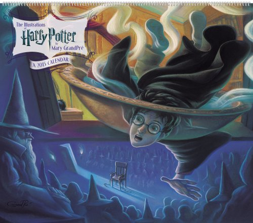 9781423824626: The Illustrations of Harry Potter 2015 Calendar