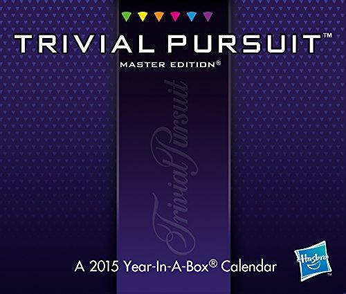 9781423825074: Trivial Pursuit Boxed Calendar (2015)