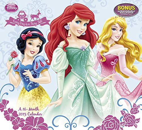 9781423825418: Disney Princess Wall Calendar (2015): Every Day is a Fairy Tale