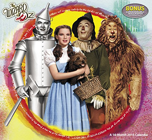 9781423826002: The Wizard of Oz 2015 Calendar