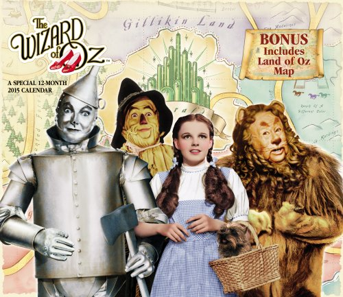 9781423826286: The Wizard of OZ Wall Calendar (2015): Land of OZ Special Edition