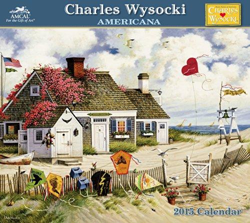 Charles Wysocki - Americana Wall Calendar (2015): Wysocki, Charles