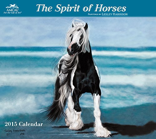 9781423827276: Lesley Harrison - Spirit of Horses Wall Calendar (2015)