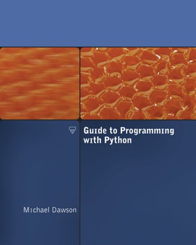9781423901129: Guide to Programming with Python (Book & CD Rom)