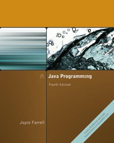 Java Programming: Farrell, Joyce
