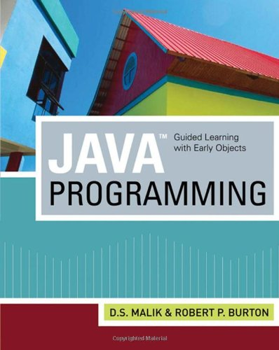 9781423901624: Java(TM) Programming: Guided Learning with Early Objects
