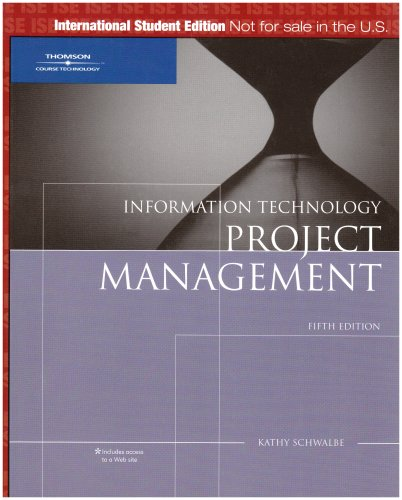 9781423901709: Information Technology Project Management, ISE
