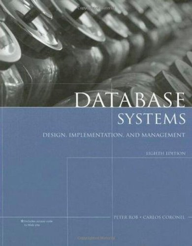 9781423902010: Database Systems: Design, Implementation, and Management