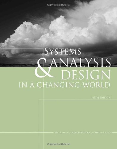 Systems Analysis and Design in a Changing World (with CourseMate Printed Access Card) (1423902289) by Satzinger, John W.; Jackson, Robert B.; Burd, Stephen D.