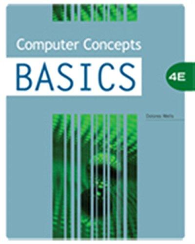 9781423904618: Computer Concepts BASICS (Origins Series)