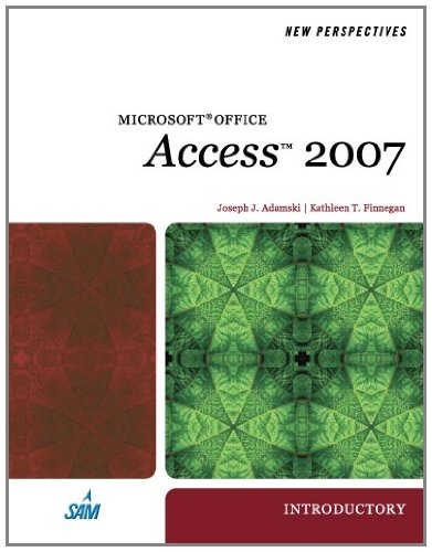9781423905882: New Perspectives on Microsoft Office Access 2007, Introductory (Available Titles Skills Assessment Manager (SAM) - Office 2007)
