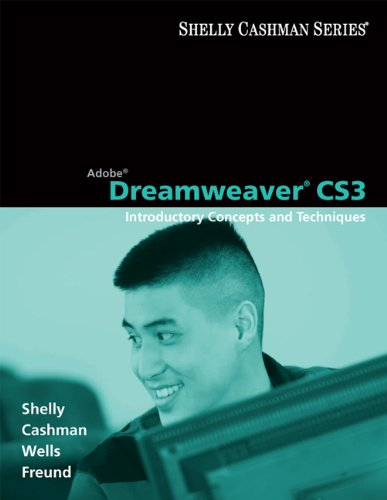 9781423912408: Adobe Dreamweaver CS3: Introductory Concepts and Techniques (Shelly Cashman)