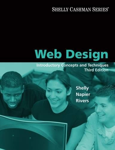 9781423927181: Web Design: Introductory Concepts and Techniques (Available Titles Skills Assessment Manager (SAM) - Office 2010)