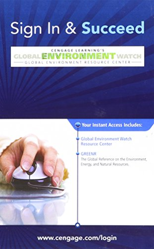 Global Environment Watch: Cengage Learning South-Western