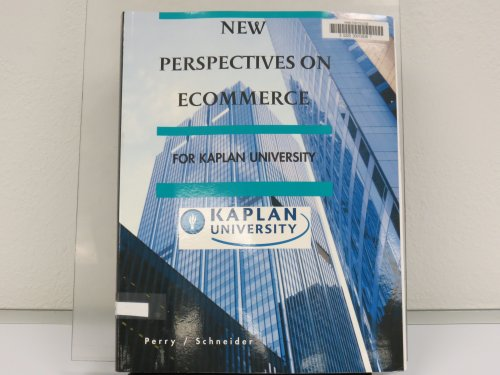 9781423930242: New Perspectives on Ecommerce: For Kaplan University