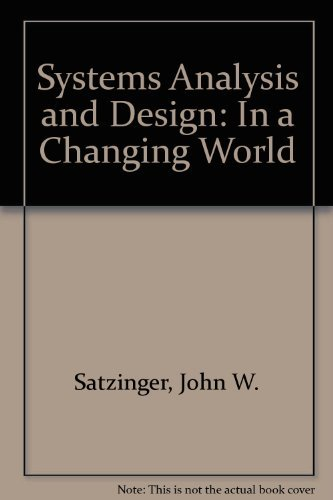 9781423934127: Systems Analysis and Design: In a Changing World