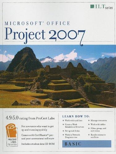 9781423951421: Microsoft Office Project 2007: Basic (ILT)
