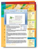 Windows Vista Coursecard (Coursecards) (1423959086) by Axzo Press