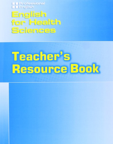 9781424000128: English for Health Sciences Teachers Resource Book (Professional English)