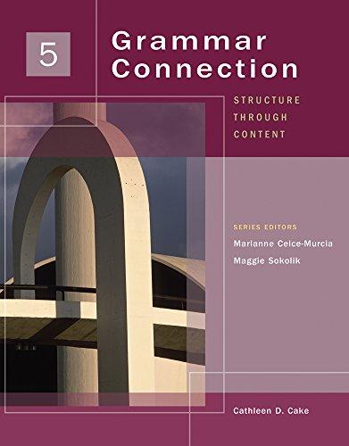 9781424000340: Grammar Connection 5: Structure through Content