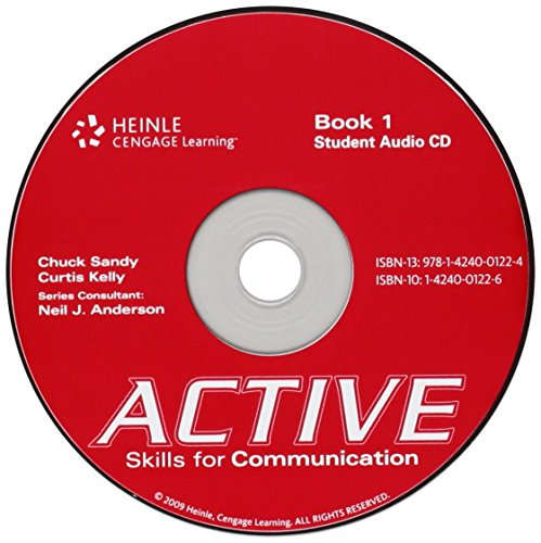 9781424001224: ACTIVE Skills for Communication 1: Student Audio CD (Bk. 1)