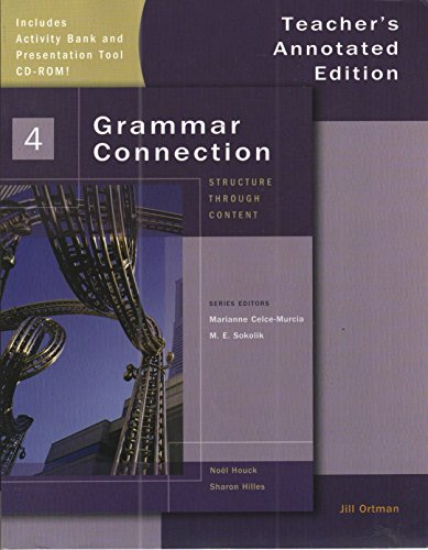 Grammar Connection 4-Instructors Manual+Classroom CD-Rom (1424002214) by Marianne Celce-Murcia