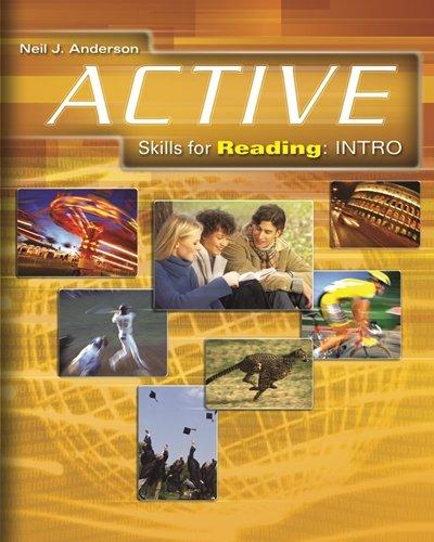 Active Skills for Reading: Teacher's Manual -: Anderson, Neil J.