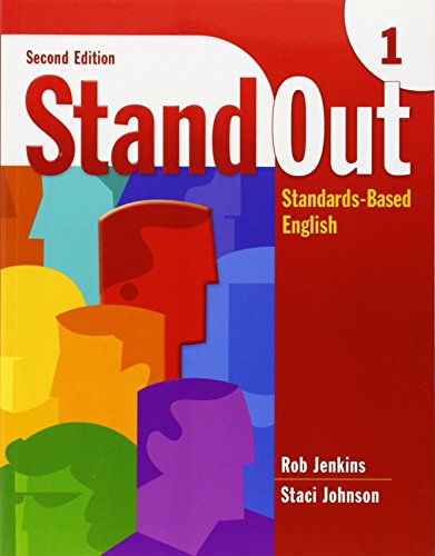 Stand Out 1: Standards-Based English (Stand Out): Rob Jenkins, Staci