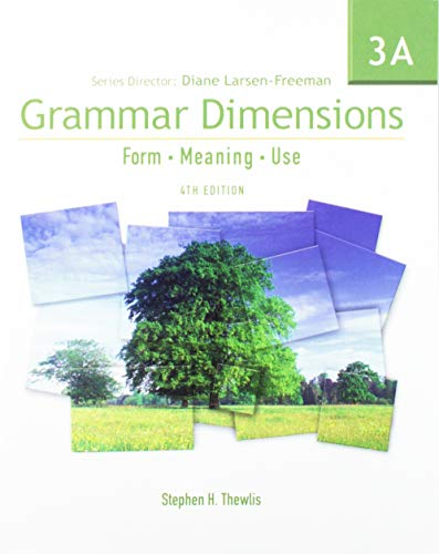 9781424003402: Grammar Dimensions 3: Split Text A