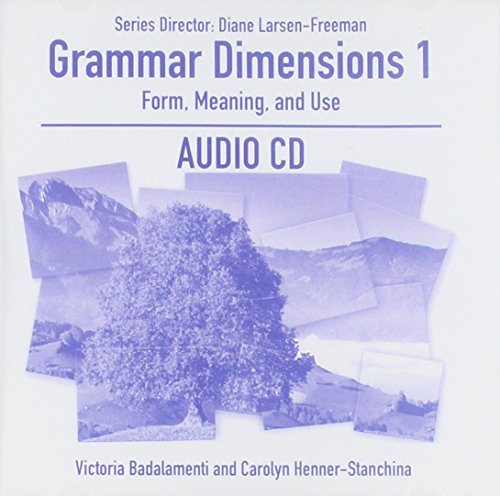 9781424003488: Grammar Dimensions, Book 1: Form, Meaning, and Use