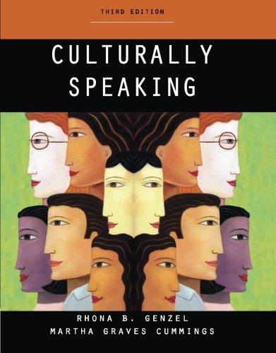 Culturally Speaking: Rhonda B. Genzel, Martha Graves Cummings