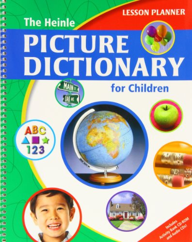 9781424004195: Heinle Picture Dictionary F/Child -Lesson Plan W/Act/Aud CD: Lesson Planner
