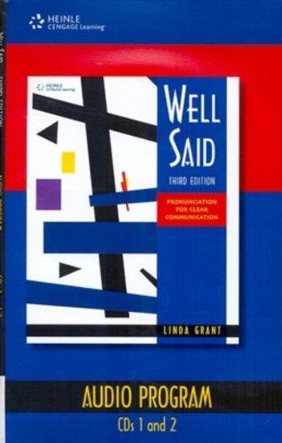 Well Said: Audio CDs (4): Grant, Linda