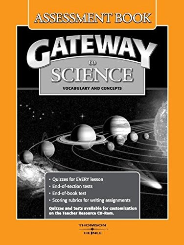 9781424008940: Gateway to Science: Assessment Book