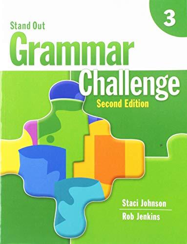 9781424009930: Stand Out 3: Grammar Challenge Workbook: Grammar Challenge Level 3