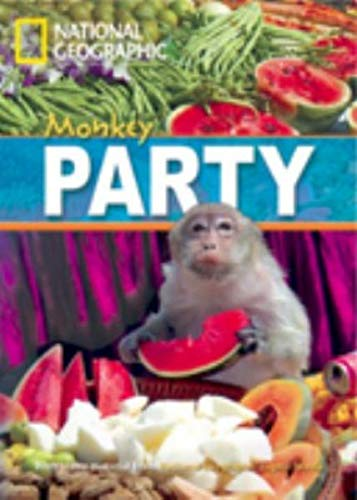 9781424010448: Monkey Party + Book with Multi-ROM: Footprint Reading Library 800